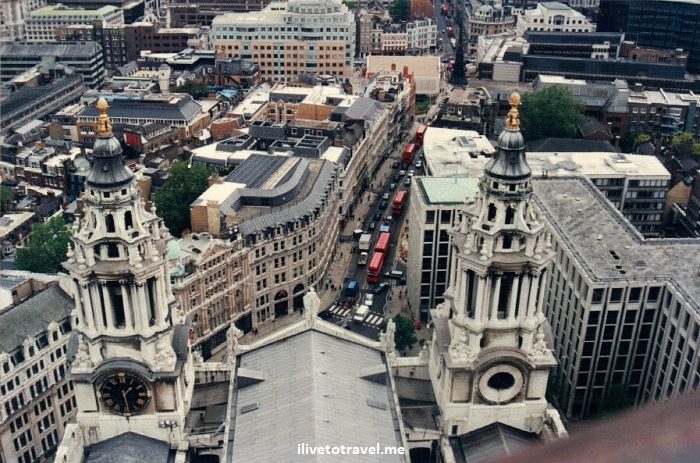 St. Paul's, Cathedral, London, England, United Kingdom, dome, view, vista, Canon EOS Rebel, photo