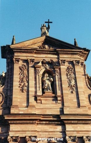 Catholic Church, Jesuit, Heidelberg, Germany, architecture, travel, photo, Canon EOS Rebel