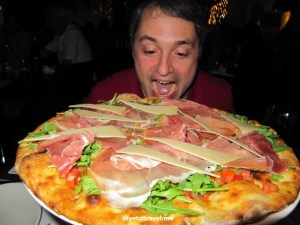 pizza, prosciutto, Thanksgiving, food, travel