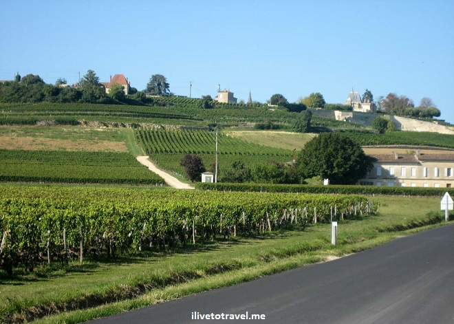 Bordeaux, landscape, vista, France, photo, wine, travel, Canon EOS Rebel, great drive, countryside