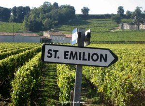 St. Emilion, Bordeaux, French town, France, sign, vines, photo, Canon EOS Rebel