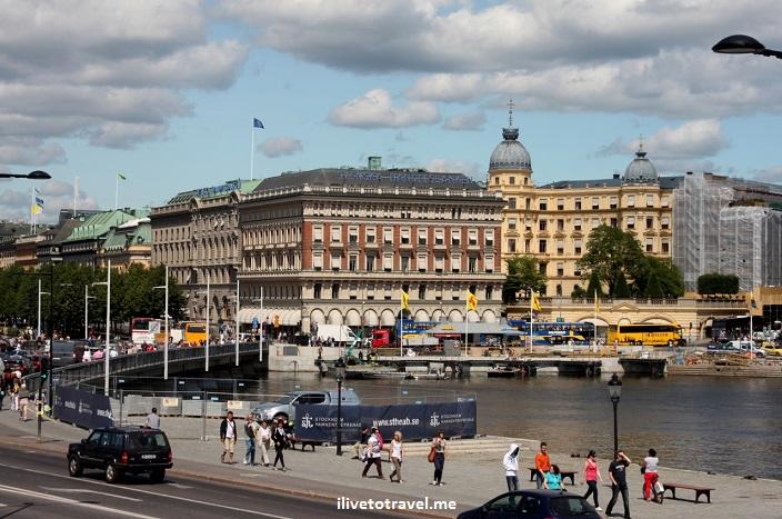 Stockholm, Sweden, architecture, sea, blue sky, travel, photo, Canon EOS Rebel