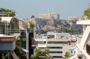 Acropolis, Athens. modern Athens, travel, photo, Canon EOS Rebel