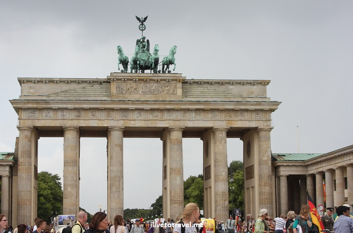Berlin, Germany, history, architecture, Brandenburg gate