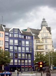 Berlin, Germany, dark sky, architecture