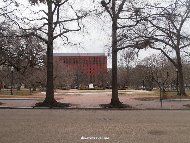 Jackson Place, Madison Place, Lafayette Square, Washington, DC, White House, Olympus