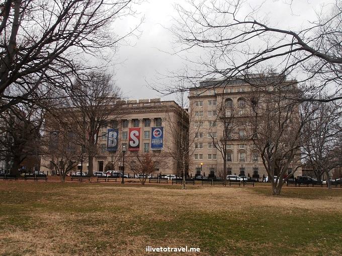 Chamber of Commerce, Lafayette Square, Washington, DC, Olympus