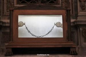 Rome, St. Paul, Outside The Walls, fuori le mura, major basilica, Catholic Church, travel, photo, Italy,, St. Paul's chain