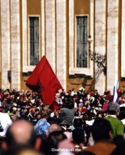 Easter Mass, The Vatican, St. Peter's Square, faithful, travel, photo, religion, Albania