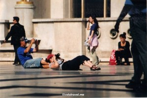 Paris, Trocadero, photographer