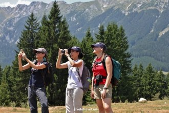 trekker, hiker, Romania, Transylvania, photo