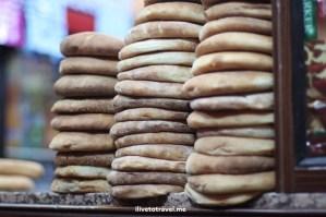 pita bread, Morocco, food stand, medina, Djemaa el Fna, Jemaa el-Fnaa, Canon EOS Rebel