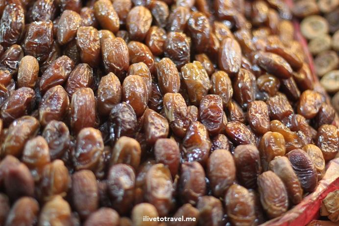 dates, fruit, Morocco, food stand, medina, Djemaa el Fna, Jemaa el-Fnaa