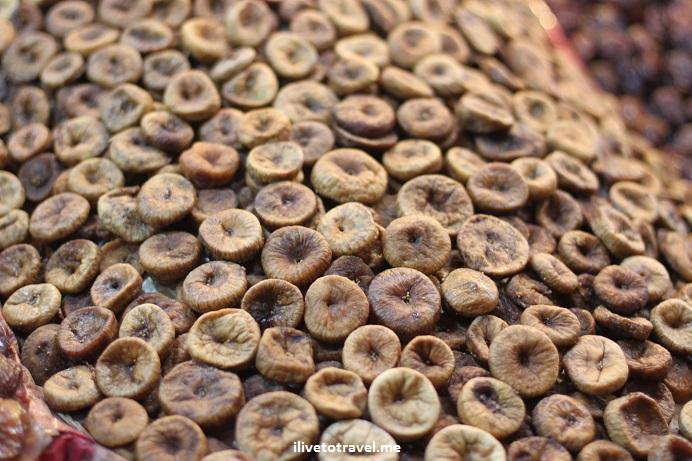 dried fruit, figs, Morocco, food stand, medina, Djemaa el Fna, Jemaa el-Fnaa