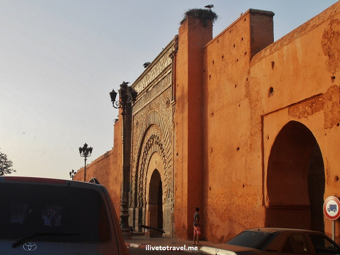 Marrakesh, Morocco, Palace Gate, medina, architecture, travel, photo, Bab Agnaou, Olympus