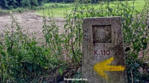 On the Camino de Santiago:  Day 1 from Sarria to Barbadelo