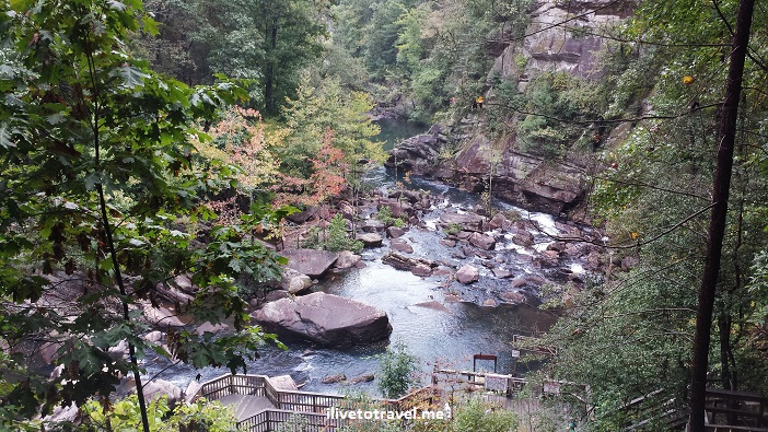 pool, bottom of the gorge, Tallulah Falls, Tallulah Gorge, Georgia, canyon, hiking, north rim, south rim, photo, outdoors, nature, Samsung Galaxy 4