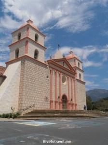 Santa Barbara, Mission, California, Franciscan, Olympus, travel, photo, architecture, history, religion