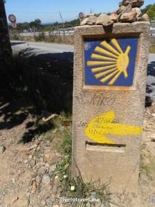Camino de Santiago, Lavacolla, Spain, España, Espagne, trekking, hiking, pilgrimage, travel, photo, outdoors, Olympus