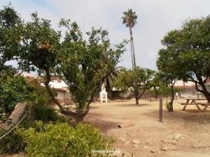 Presidio, Santa Barbara, California, history, Spanish settlement, architecture, photo, travel, Olympus