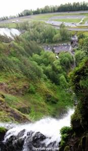 Portland, Columbia River, Oregon, Multnomah Falls, gorge, scenic, nature, outdoors, Samsung Galaxy, photo, travel