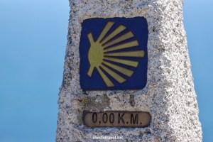 Camino, Way, Santiago, Compostela, pilgrimage, travel, mile marker