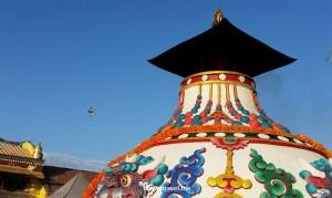 Kathmandu's Great Boudha Stupa