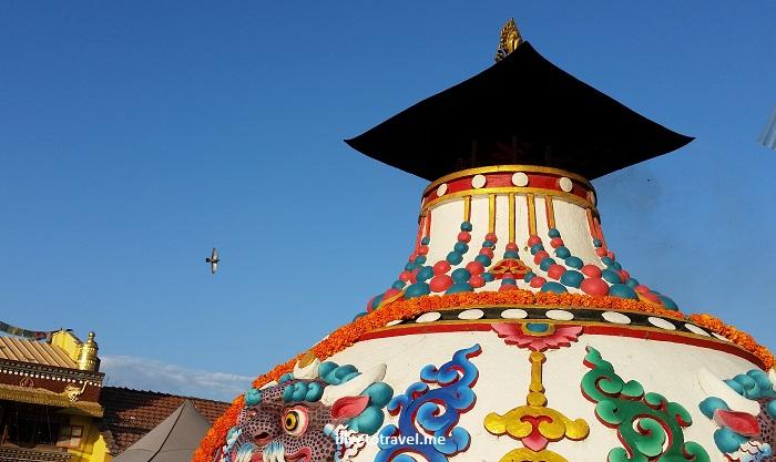 Great Boudha Stupa, stupa, dome, Buddhist, Buddhism, Kathmandu, Nepal, Samsung Galaxy, travel, tourism, color