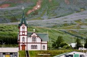 church, Husavik, Iceland, travel, tourism, Canon EOS Rebel, photo