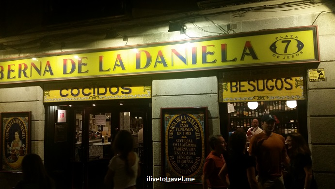 La Daniela, tapas bar, Madrid, Spain, España, food, foodie, travel, photo, Samsung Galaxy