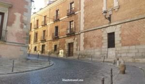 cobblestone, street, Madrid, walk, walking, Spain, travel, tourism, photo, Samsung Galaxy
