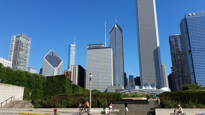 Chicago, Illinois, skyscraper, cityscape, photo, glass. buildings, architecture