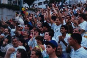 Atlanta, 1996 announcement, Underground Atlanta, Olympics, host city, 1990, ilivetotravel, Raul Pino