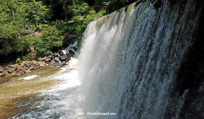 Vickery Creek, Roswell, Georgia, Chattahoochee, river, park, Atlanta, hiking, outdoors, nature, trail, Samsung Galaxy S7, photo, waterfall