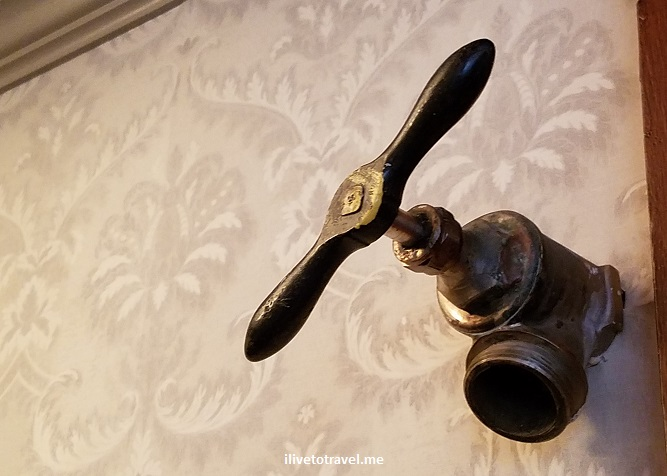 Stanley Hotel, Estes Park, Colorado, Rocky Mountain National Park, photo, tour, hose fixture
