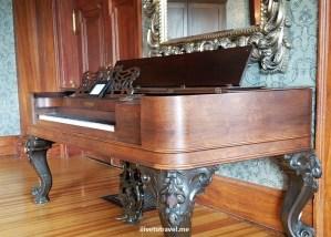 Stanley Hotel, Estes Park, Colorado, Rocky Mountain National Park, photo, tour, piano