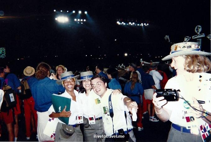 Atlanta, Olympics, 1996 Games, volunteer, Closing Ceremonies,