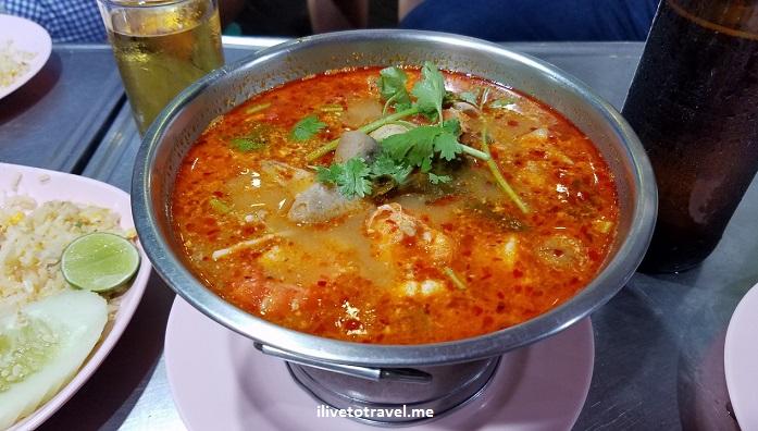 Bangkok, Thailand, street, food, seafood, travel, explore, photo