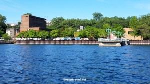 Lake Champlain, sailboat, Vermont, blue sky, peaceful, beautiful, Burlington