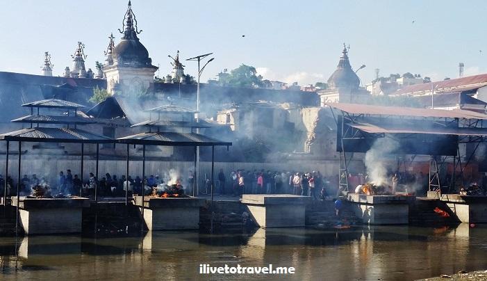 Pashupatinath, temple, ghat, Kathmandu, Nepal, templo, Hinduismo, cremation, Asia, explore, travel, photo, architecture, Bagmati