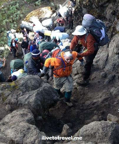 Kili, Kilimanjaro, Barranco Wall, Tanzania, trekking, hiking, climbing, adventure, Africa, outdoors, photo, travel