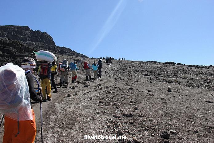 Kili, Kilimanjaro,Barafu Camp, Machame Route, Tanzania, trekking, hiking, climbing, adventure, Africa, outdoors, photo, travel