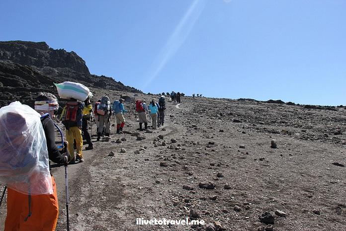 Kili, Kilimanjaro,Barafu Camp, Machame Route, Tanzania, trekking, hiking, climbing, adventure, Africa, outdoors, photo, travel