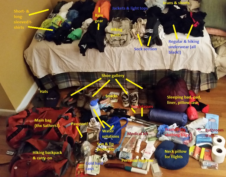 packing list, Nepal, Everest, base camp, Himalayas, trekking, hiking, teahouse, nature, adventure, outdoors, travel, Asia