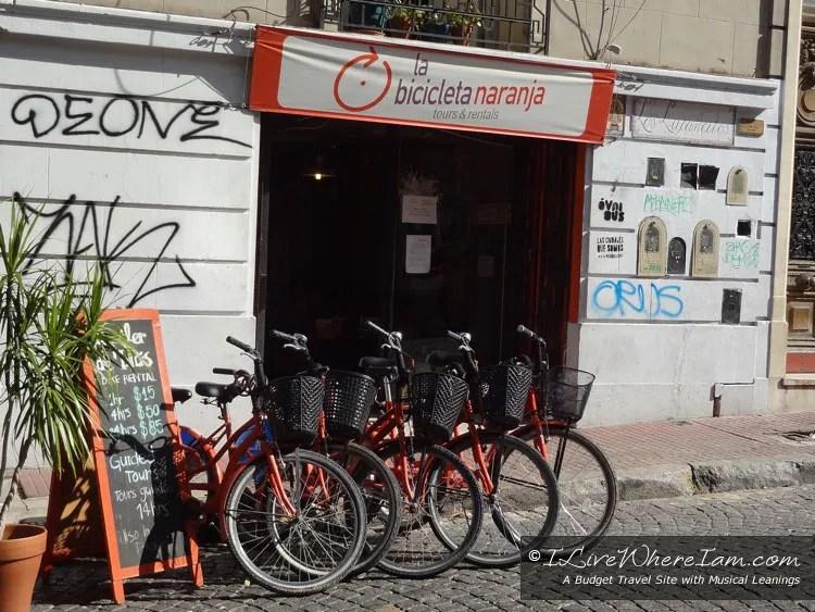 La Bicicleta Naranja - San Telmo