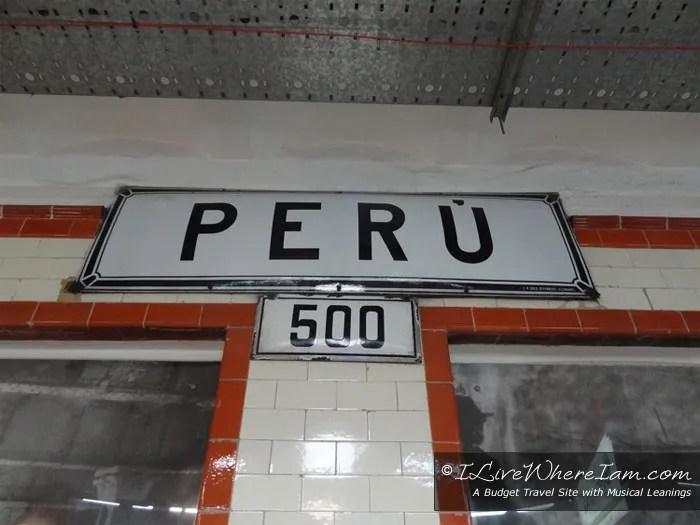 Linea A Subway Station Peru