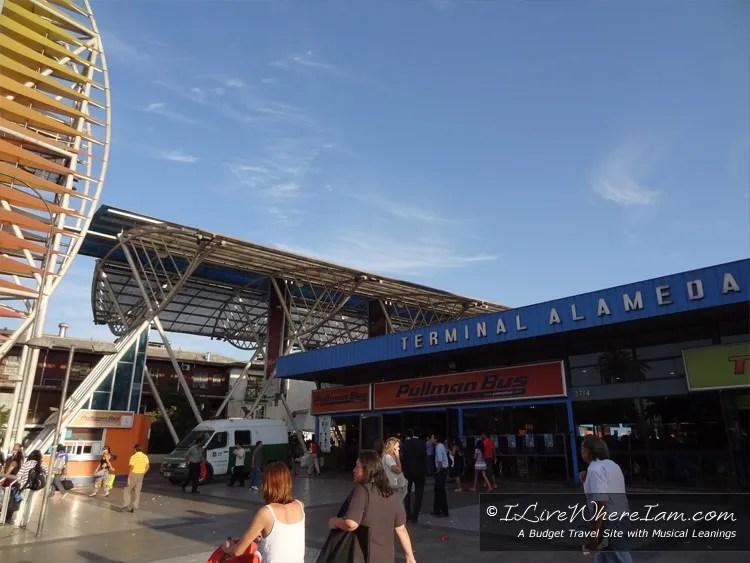 Santiago, Chile Bus Terminal