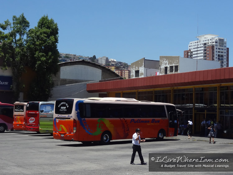 Valparaiso, Chile Bus Terminal