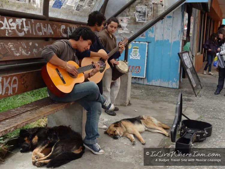 Musicians in Ancud