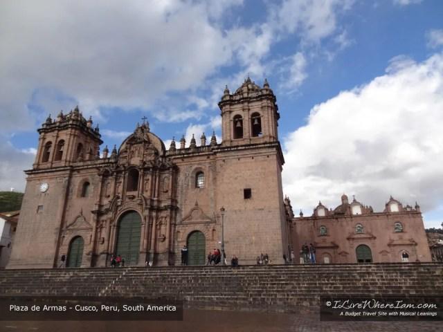 Plaza de Armas - Cusco, Peru, South America